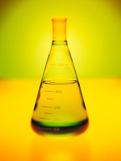 Chemistry Beaker-Thom Lang-Photographic Print