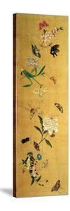 One Hundred Butterflies, Flowers and Insects, Detail from a Handscroll by Chen Hongshou