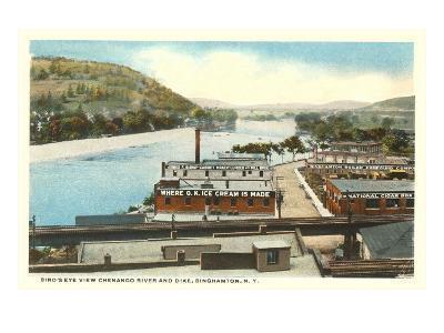 Chenango River, Binghamton, New York--Art Print