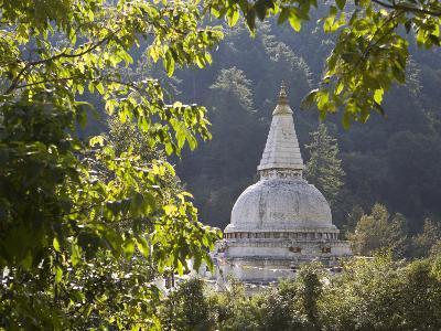Chendebji Chorten Between Wangdue Phodrang and Trongsa, Bhutan, Asia-Lee Frost-Photographic Print