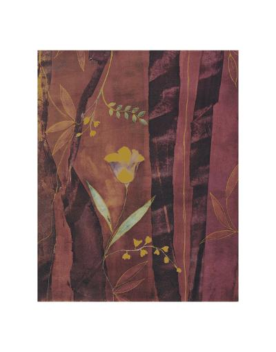 Chenille Tulips-Muriel Verger-Art Print