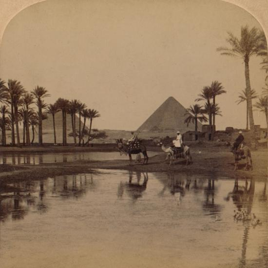 'Cheops from the fertile Valley of the Nile, Egypt', 1896-Unknown-Photographic Print