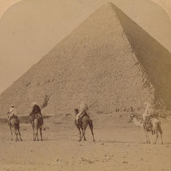 'Cheops, the Greatest of the Pyramids, Egypt', 1896-Unknown-Photographic Print