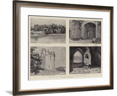 Chepstow Castle--Framed Giclee Print