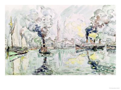 Cherbourg, 1931-Paul Signac-Giclee Print