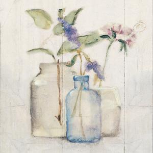 Blossoms on Birch I by Cheri Blum