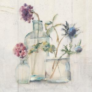 Blossoms on Birch II by Cheri Blum