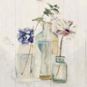 Blossoms on Birch III by Cheri Blum