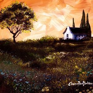 House in the Fields 1 by Cherie Roe Dirksen