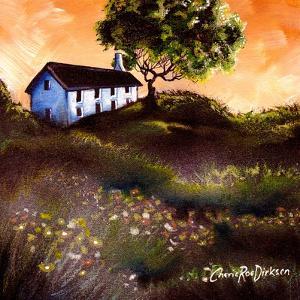 House in the Fields 2 by Cherie Roe Dirksen