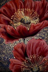 Red Poppies by Cherie Roe Dirksen