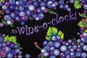 Wine O' Clock Grapes by Cherie Roe Dirksen