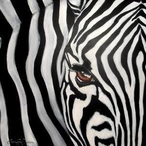 Zebra Face by Cherie Roe Dirksen