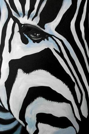 Zebra Long Face