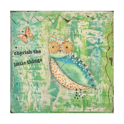 Cherish the Little Things-Cassandra Cushman-Art Print