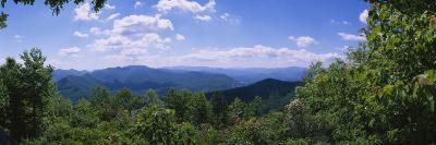 Cherohala Skyway, North Carolina Highway 143, Nantahala National Forest, North Carolina, USA--Photographic Print