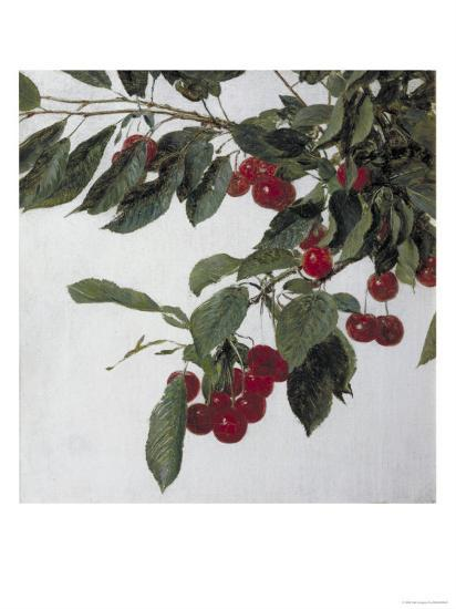 Cherries, c.1883-Henri Fantin-Latour-Giclee Print