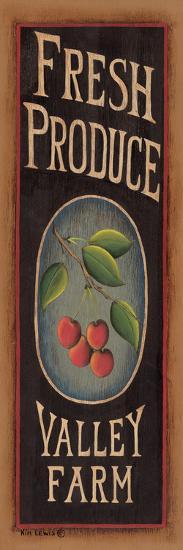 Cherries-Kim Lewis-Art Print