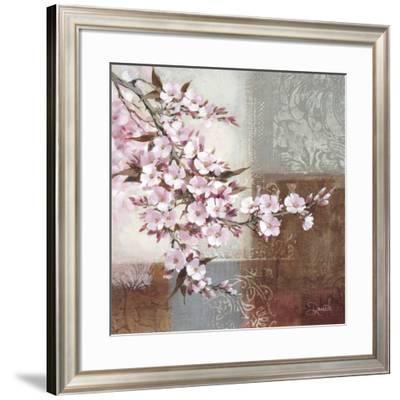 Cherry Bloom II-Danielle Nengerman-Framed Art Print