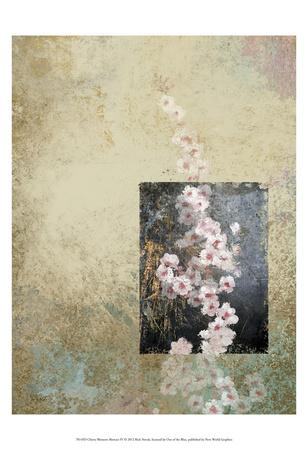 Cherry Blossom Abstract IV-Rick Novak-Art Print