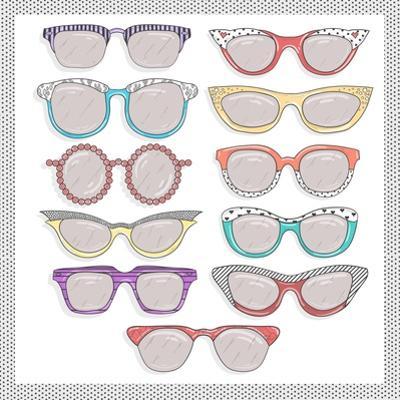Retro Sunglasses Set by cherry blossom girl