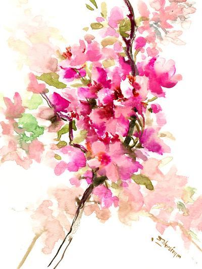 Cherry Blossom, Sakura 1-Suren Nersisyan-Art Print
