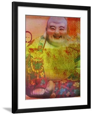 Cherry Blossom Zen Boss-Ricki Mountain-Framed Art Print