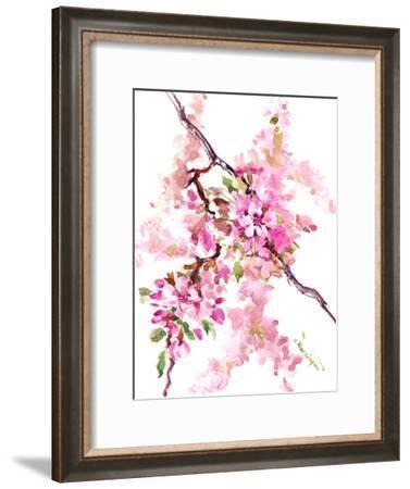 Cherry Blossom-Suren Nersisyan-Framed Art Print