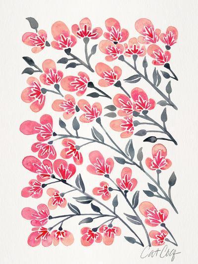 Cherry Blossoms-Cat Coquillette-Art Print