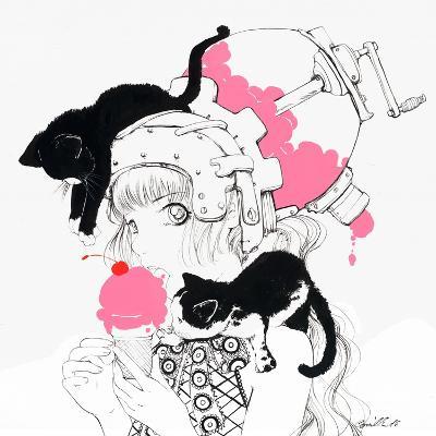 Cherry Jubilee-Camilla D'Errico-Art Print