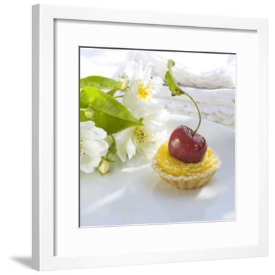 Cherry Lemon Tartlets-C. Nidhoff-Lang-Framed Photographic Print