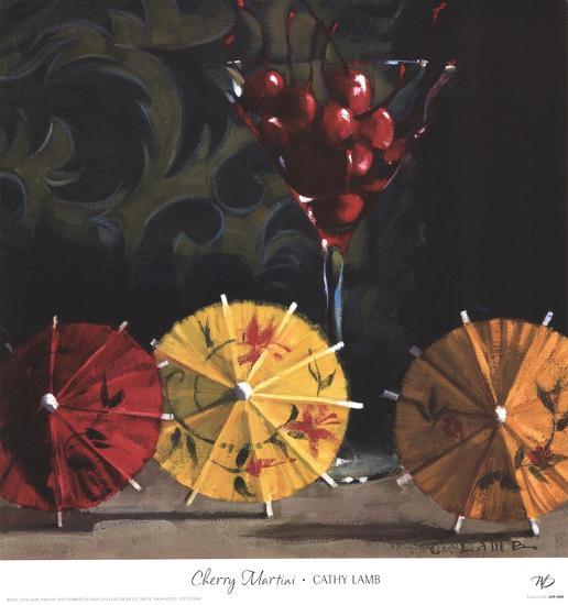 Cherry Martini-Cathy Lamb-Art Print