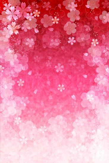 Cherry Plum Greeting Cards- JBOY-Art Print