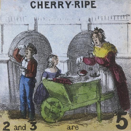 Cherry-Ripe, Cries of London, C1840-TH Jones-Giclee Print