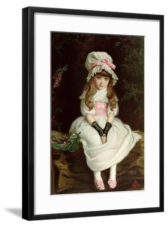 Cherry Ripe-John Everett Millais-Framed Giclee Print