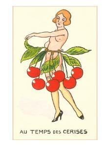 Cherry Season, Nude with Belt of Cherries