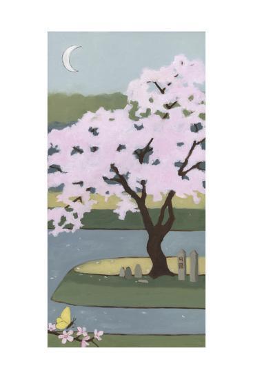 Cherry Tree, Spring, 2013-Megan Moore-Giclee Print