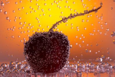 Cherry Underwater-Gordon Semmens-Photographic Print
