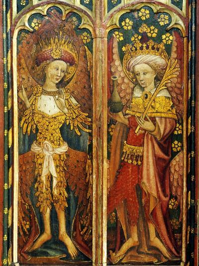 Cherubim and Principalities, Two of the Nine Orders of Angels, Detail of the Rood Screen, St.…--Giclee Print
