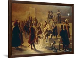 Paolo Erizzo Giving a Final Farewell to His Daughter, 1842 by Cherubino Cornienti