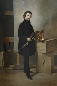 Self-Portrait by Cherubino Cornienti