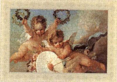Cherubs, Cupids and Love III--Art Print