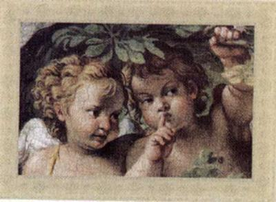 Cherubs, Cupids and Love IV--Art Print