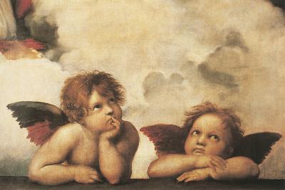 Cherubs-Raphael-Giclee Print
