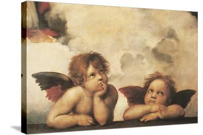 Cherubs-Raphael-Stretched Canvas Print