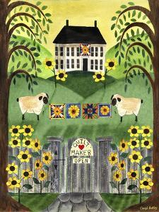 2 Sheep Quilt House by Cheryl Bartley