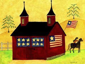 American Folk Art Barn by Cheryl Bartley