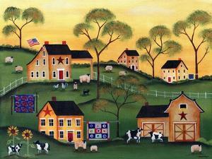 American Sunshine Country Farm by Cheryl Bartley
