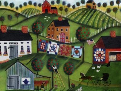 Amish Folk Art Quilts by Cheryl Bartley