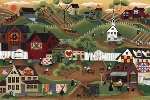 Amish Quilt Village by Cheryl Bartley